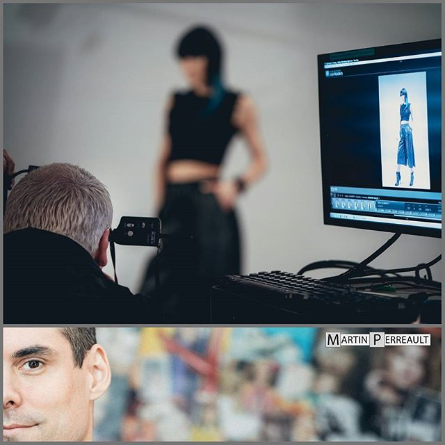 #bts assignment on my friend @gilpmtl 's hair styling & fashion shoot. I find it a real pleasure to shoot behind the scenes. It allows me to be surrounded by a bunch of creative people and focus in the moment, taking the time to admire them at work.