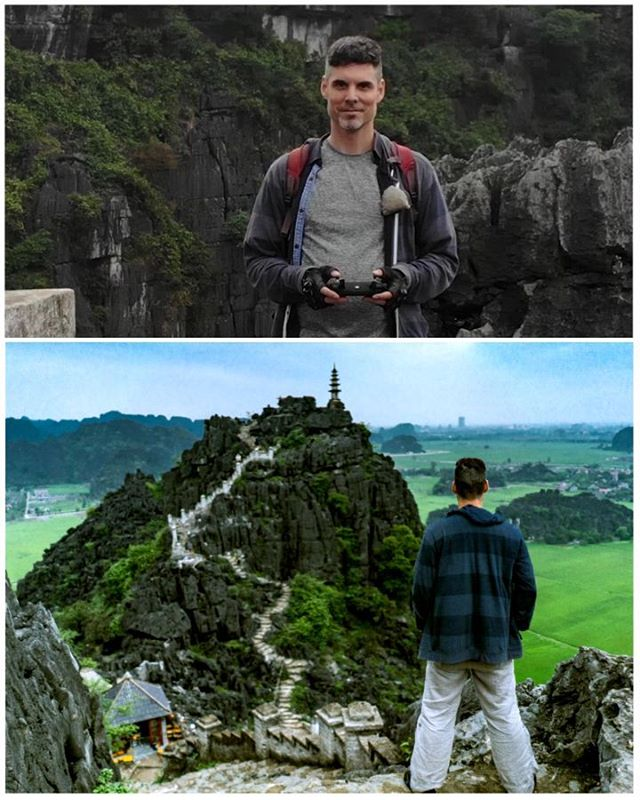 My visit to Ninh Binh was breathtaking.  Those shrines at the top of the cliff are amazing.  It is hard to capture in photo how magnificent it all is, and I think the drone really gets to show what I actually saw in person.#dji #djimavicair #drone #vietnam #backpacking #roadtrip #ninhbinh #amazing